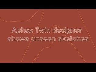 Aphex Twin logo designer Paul Nicholson shows more unseen sketches