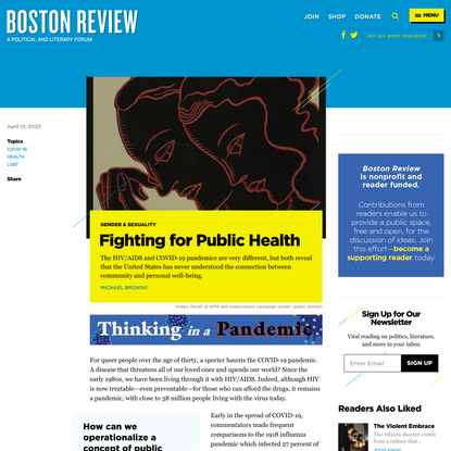 Fighting for Public Health