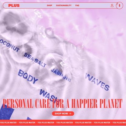 Plus | Personal Care for a Happier Planet