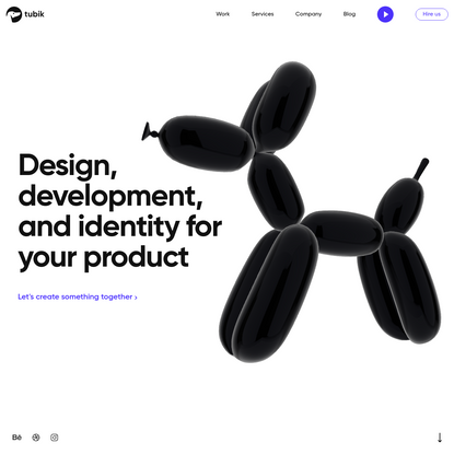 Design, development, and identity for your product