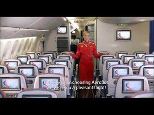 Предполетный инструктаж (Safety Video) на Boeing 777-300ER