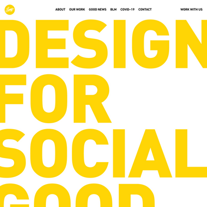 The Creative Agency For Good   We Are Loop: Design for Social Good