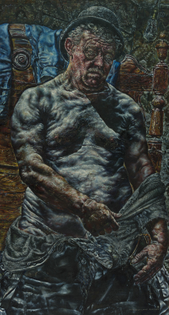 Ivan Albright, And Man Created God in His Own Image