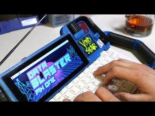 The Data Blaster: Hacker Cyberdeck for a Dystopian Future