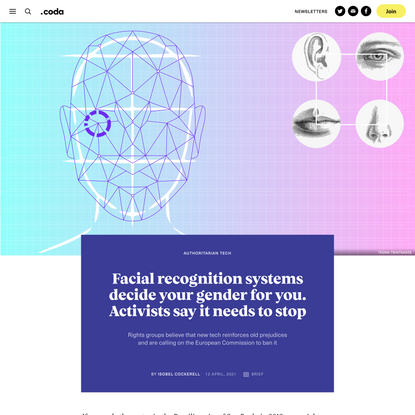Facial recognition systems are deciding your gender for you. Activists say that needs to stop - Coda Story
