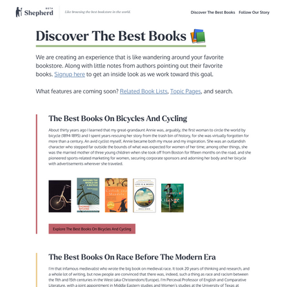 Discover The Best Books To Read 📚 - Shepherd