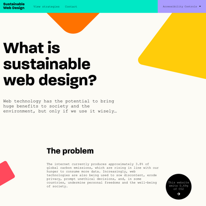 Home - Sustainable Web Design