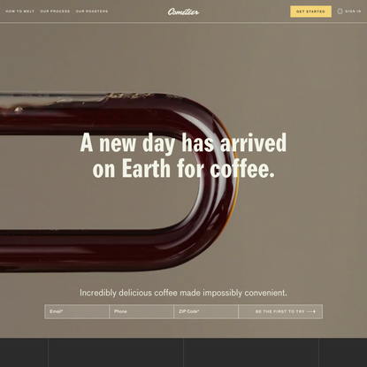 Cometeer - Earth's First Hyper Fresh Coffee
