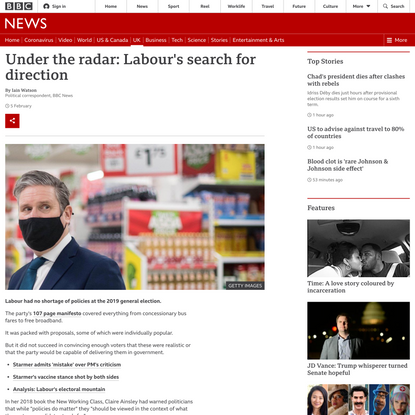 Under the radar: Labour's search for direction