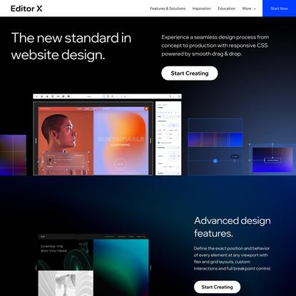 Responsive Web Design   Website Creation   Editor X