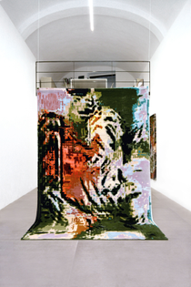 2.-_hey-there-tiger_-irene-fenara-_three-thousand-tigers_-2020-handmade-wool-tapestry-300x200-cm-courtesy-the-artist-and-una...