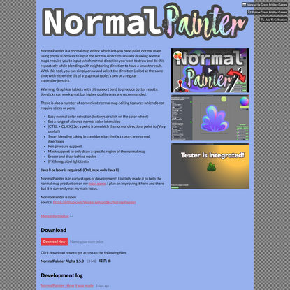 NormalPainter by Green Frisbee Games