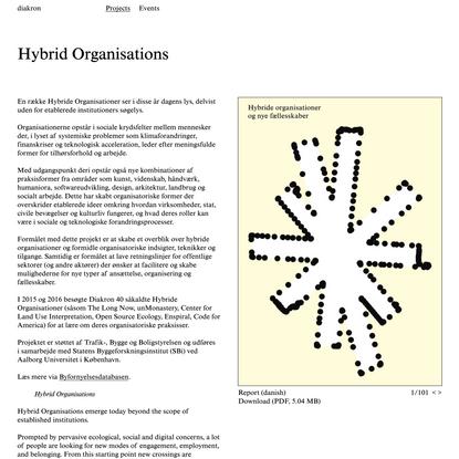 diakron: Hybrid Organisations