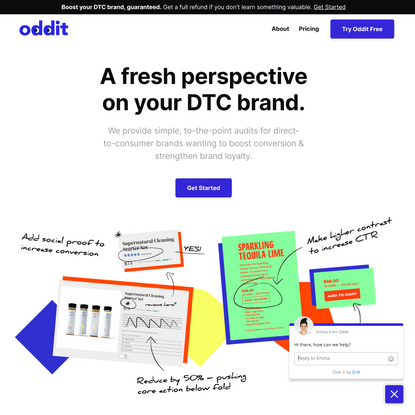 Optimize the Conversion Rate of Your Ecommerce Brand with a DTC Audit | Oddit