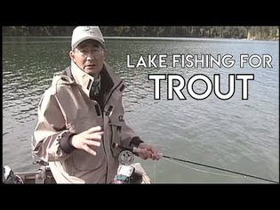 Lake Fishing for Trout Part One with Brian Chan