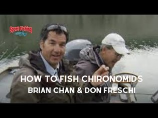 FLY FISHING: How to FLY FISH CHIRONOMIDS effectively.