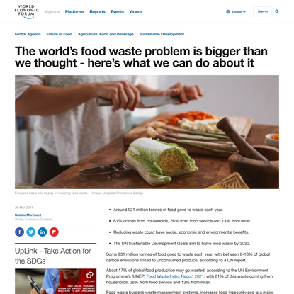 The world's food waste problem is bigger than expected - here's what we can do about it