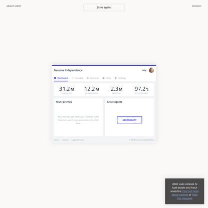 Uibot — Infinite UI designs