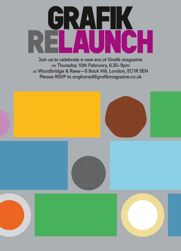 Grafik Relaunch digital flyer
