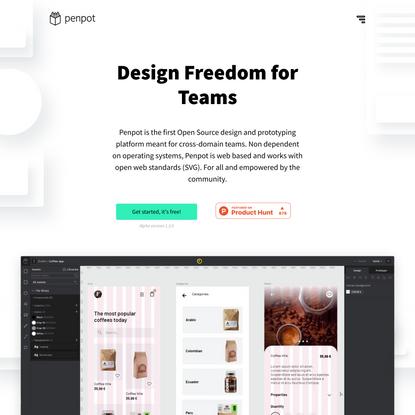 Penpot | Design Freedom for Teams