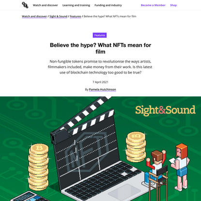 Believe the hype? What NFTs mean for film