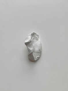 Zhongkai Li, Body fossil #1 (Ongoing), 2018, White Clay, Various sizes