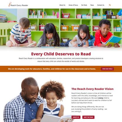 Home | Reach Every Reader
