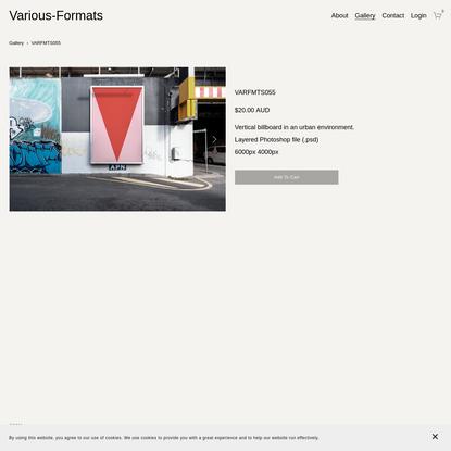 VARFMTS055 - Various-Formats