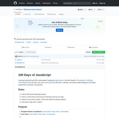 skullface/100-javascript-projects