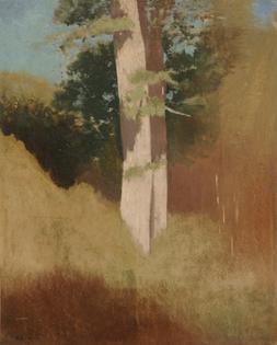 Odilon Redon, Trees in the Blue Sky, 1883