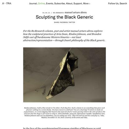 Sculpting the Black Generic