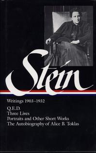 Stein, Writings 1903–1932