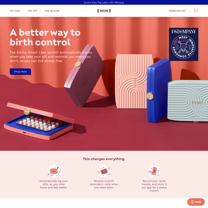 Emme Helps You Miss Fewer Birth Control Pills