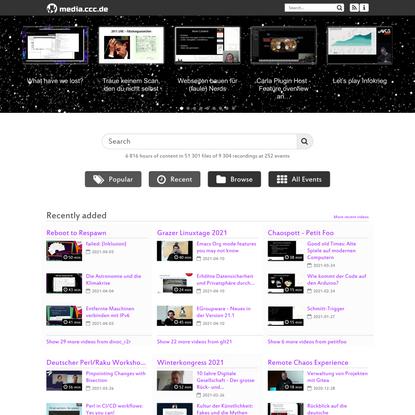media.ccc.de - home