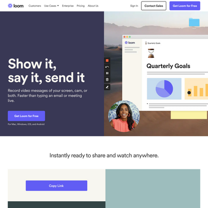 Loom: Video Messaging for Work