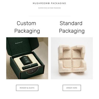 Welcome — Mushroom® Packaging