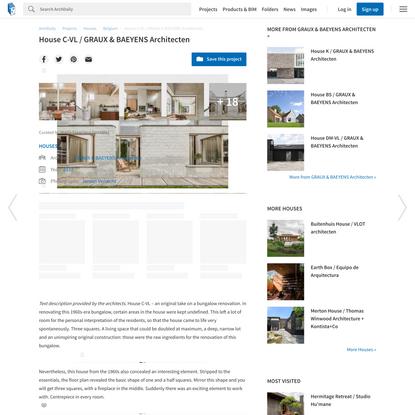 House C-VL / GRAUX & BAEYENS Architecten