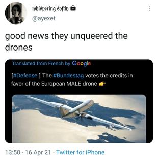 unqueering the drones