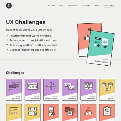 UX Design Challenges