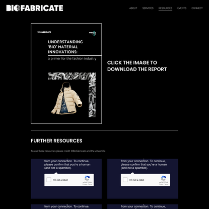 Resources — Biofabricate