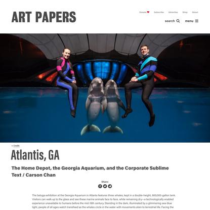 Atlantis, GA - Art Papers
