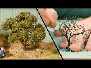 Wire Tree Tutorial - Model Railroad