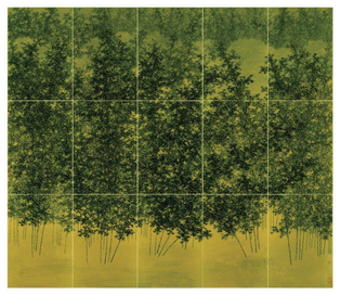 Koon Wai Bong -Bamboo Trees in Profusion, 2018