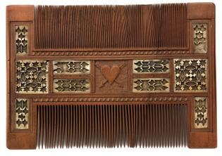 Wood Comb, Unidentified, 1500-1700, Smithsonian: American Art Museum