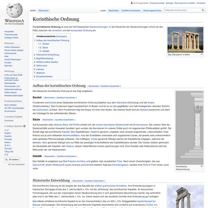 Korinthische Ordnung – Wikipedia