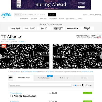 TT Alientz Font   Webfont & Desktop   MyFonts