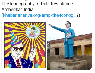The Iconography of Indian Dalit Resistance: Ambedkar