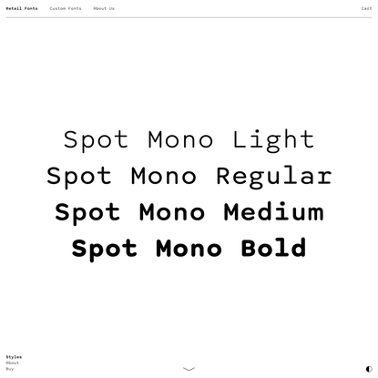 Spot Mono – Schick Toikka