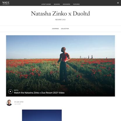 Natasha Zinko x Duoltd Resort 2021 Collection