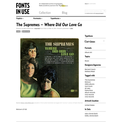 The Supremes – Where Did Our Love Go